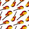 klassischen Gitarren-Muster