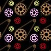 Fahrradmechaniker Muster
