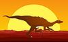 Dinosaur Hintergrund