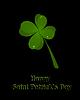 St. Patrick `s Day Karte Einladung