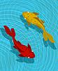 ID 3536802 | Koi Fisch-Szene | Illustration mit hoher Auflösung | CLIPARTO