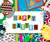 Easter Cellebration Collage-Karte | Stock Vektrografik
