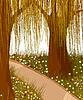 Willow Wald Hintergrund
