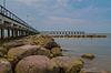 Pier-und Rock- | Stock Foto