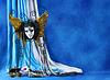 ID 3511628 | Tło z karnawałowe maski i perłami | Foto stockowe wysokiej rozdzielczości | KLIPARTO