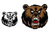 Злой медведь - маскот
