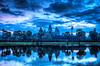 일출 - 앙코르 와트 - 유명한 크메르어 랜드 마크 | Stock Foto