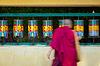 ID 4697938 | Buddhist monk rotating prayer wheels in McLeod Ganj | Foto stockowe wysokiej rozdzielczości | KLIPARTO