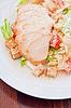 ID 4498810 | Huhn Ceasar Salat | Foto mit hoher Auflösung | CLIPARTO