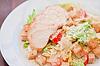 ID 4513042 | Sałatka z kurczaka Cezara | Foto stockowe wysokiej rozdzielczości | KLIPARTO