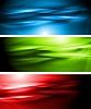 Vektor Cliparts: Helle Banner Sammlung