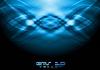 Vektor Cliparts: Blauer abstrakter Hintergrund