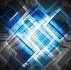 Vektor Cliparts: Grunge-Design mit Quadraten