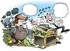 Estado agarra su dinero en impuestos | Ilustración