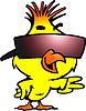 ID 3441023 | Inteligentne kurczaka z chłodnym okulary | Klipart wektorowy | KLIPARTO