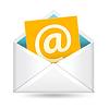 Email sign und Umschlag