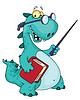 Учитель динозавра
