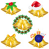 christmas bells icons