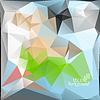 Multicolor (Grün, Blau, Rot) Design-Vorlagen.