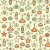 ID 3444928 | Nahtloses Weihnachtsmuster | Stock Vektorgrafik | CLIPARTO