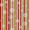 Weihnachten nahtlose Muster mit Schneeflocken