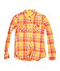 ID 3474075 | Pomarańczowa koszula w kratkę | Foto stockowe wysokiej rozdzielczości | KLIPARTO