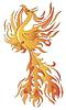 ID 3532287 | Птица Феникс | Векторный клипарт | CLIPARTO