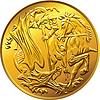 Britische Geld Goldmünze souverän, mit St