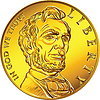 ID 3534235 | American money gold coin one dollar | Klipart wektorowy | KLIPARTO