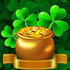 St Patrick Day karty z koniczyny i garnek złota | Stock Vector Graphics