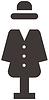 Kleiderschrank Symbol