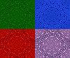 Set nahtlose Muster von Kreisen | Stock Vektrografik