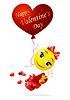 Uśmieszki miłość | Stock Vector Graphics