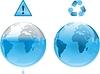 Ziemia Zachowaj ekologia woda | Stock Illustration
