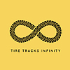 Gummireifen-Spuren im Infinity-Formular