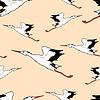 Weißstorch im Flug seamless wallpaper