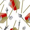 Waffensammlung, mittelalterliche Waffen, nahtlose