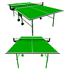 Ping pong grün Tischtennis.