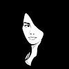 어두운 배경에서 여자 | Stock Vector Graphics
