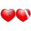 Zwei Verletzte und behandelt Love Hearts