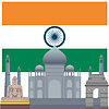 Architektonische Denkmäler von Indien