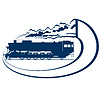 Vektor Cliparts: Locomotive-