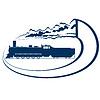 Vektor Cliparts: Locomotive-11