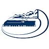 Vektor Cliparts: Locomotive-16