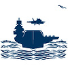 Vector clipart: Navy