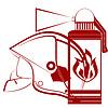 ID 3441345 | Feuerwehr-Helm und Feuerlöscher | Stock Vektorgrafik | CLIPARTO