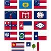Flaggen der Konföderierten Staaten von Amerika