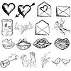 Valentines Tag Skizze