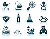 Set von Baby-Icons