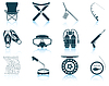 Set fishing icons